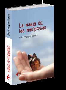 Portada libro la magia de las mariposas