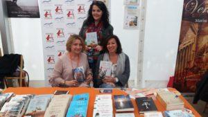 Promoción literaria en ferias. Editorial Adarve