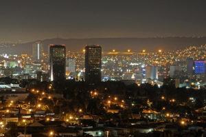 Editar en España. Foto de la ciudad de Tijuana