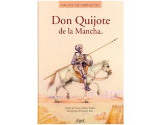 Publicar en España. Portada Don Quijote