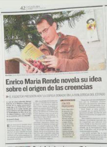 foto de Maria Rende en Canarias7. Editorial Adarve