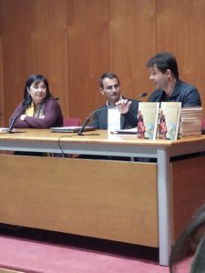 foto presentacion Enrico Maria Rende. Editorial Adarve