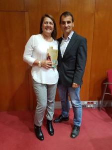 foto presentacion Enrico Maria Rende y publico. Editoriales españolas