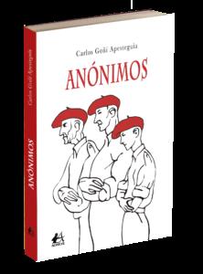 Anónimos de Carlos Goñi. Editorial Adarve