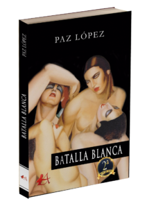Portada Batalla blanca, Paz López. Editoriales de España