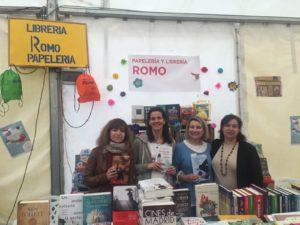 Adarve en Feria del libro de Chamartín. Editoriales de España