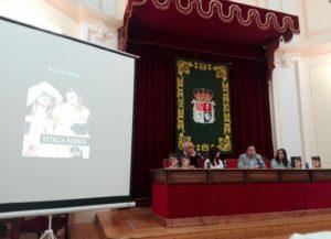 Presentación Batalla blanca de Paz López. Editorial Adarve