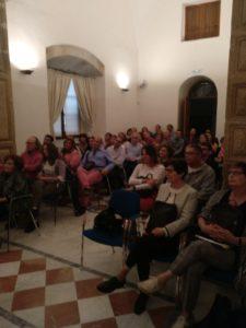 Asistencia a la presentación de Malatierra. Editorial Adarve