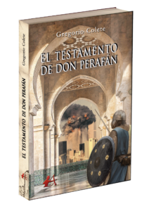 Portada El testamento de don Perafán. Editorial Adarve