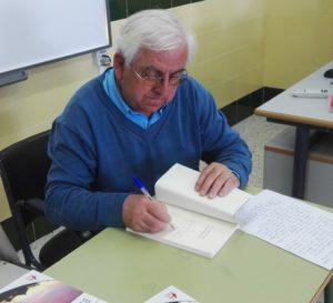 presentación El vértigo de la eternidad de Florentino Gómez. Editoriales de España