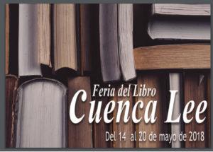 Anuncio Feria del libro de Cuenca Lee. Editorial Adarve