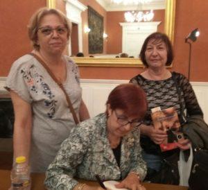 Firma de ejemplares Matrimonio Pactado. Editorial Adarve