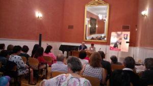 Presentación Matrimonio pactado, Rosa M Sáenz. Editoriales españolas, Adarve