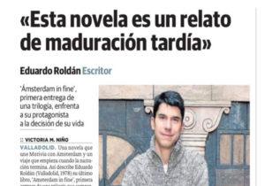 Roldán en diario El norte de Castilla. Editoriales de España, Adarve