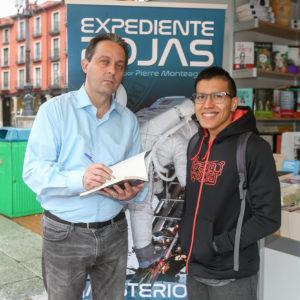 Pierre Monteagudo en Valladolid. Editorial Adarve, Editorial Adarve de España, Editoriales españolas, Editoriales de España, Editoriales españolas actuales, Editoriales actuales de España