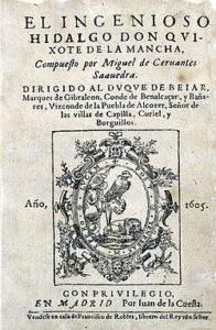 El ingenioso hidalgo don Quijote de la Mancha, de Miguel de Cervantes. Editoriales españolas, Adarve