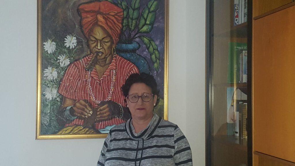 María Cutiño, escritora cubana. Editorial Adarve