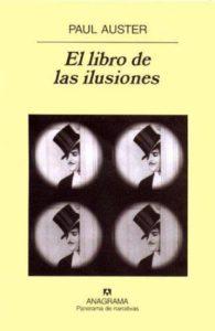 Portada de El libro de las ilusiones de Paul auster. Editorial Adarve de España
