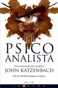 Portada del libro El psicoanalista. Editoriales de España, Adarve