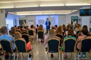 Monteagudo en conferencia. Editoriales actuales de España, Adarve