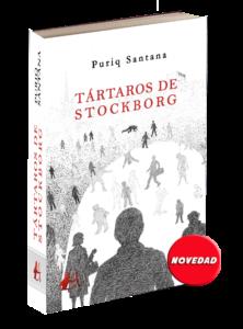 Portada del libro Tártaros de Stockborg de Puriq Santana. Editoriales actuales de España, Adarve