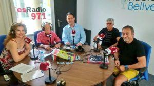 Monteagudo en esRadio. Editoriales de España, Adarve