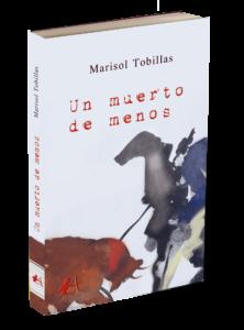 Portada del libro Un muerto de menos de Marisol Tobillas. Editoriales de España, Adarve