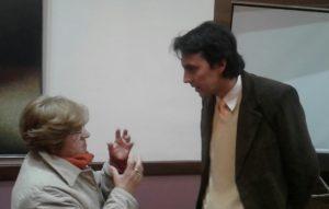 Conversaciones tras la presentación de Gustavo Marcelo Farias. Editoriales actuales de España