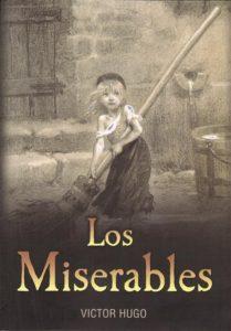 Portada del libro Los Miserables de Víctor Hugo. Editorial Adarve de España