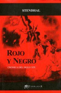 Rojo y Negro, de Stendhal. Editorial Adarve