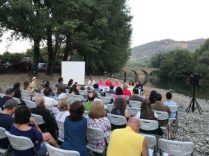 Público asistente a la presentación de Florentino Gómez. Editoriales actuales de España, Adarve