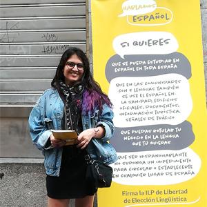 Editorial Adarve apoya campaña para defender la lengua española. Editoriales actuales de España