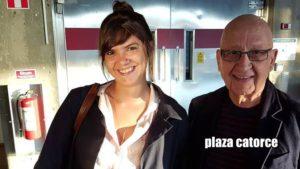 Claudia González y Carlos Décker-Molina en Plaza catorce de Bolivia. Editorial Adarve de España