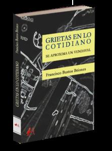 Grietas en lo cotidiano, se aproxima un vendaval de Francisco Bustos Briones. Editorial Adarve de España