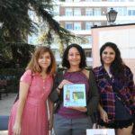 María Vega, autora de Superhéroes literasles junto al equipo Adarve. Editorial Adarve deEspaña, Editoriales actuales de España