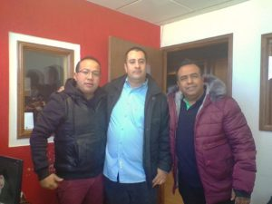 Mauro Carrasco, autor de la novela El llanto del vampiro, en Radio Happy de México. Editorial Adarve, Editoriales actuales de España, Editoriales españolas