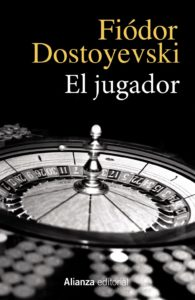 Portada de El jugador de Dostoievsky. Editoriales de España, Editoriales españolas, Editorial Adarve