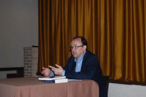 Carlos Javier García Moreno presenta David Sueños de un rey. Editorial Adarve, Editoriales de España