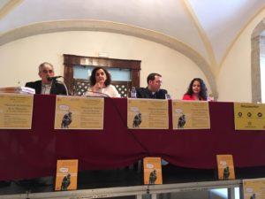 Durante la presentación del Manual de Historia de la Filosofía de Anselmo Matilla Santos. Editorial Adarve de España, Editoriales actuales de España