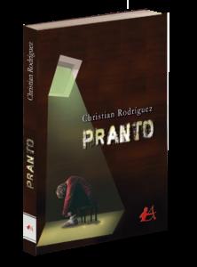 Portada del libro Pranto de Christian Rodríguez. Editorial Adarve