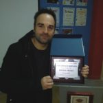 El autor de la novela Oscuras luces de septiembre Javier Samper gana el II Premio Provincial de Narrativa Breve Enrique Cerdán Tato. Editorial Adarve, Editorial Adarve de España, Editoriales españolas, Editoriales actuales de España