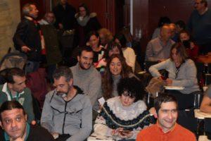 Público presente en la presentación de la novela juvenil y feminista Anomine de la escritora Ana Carreño. Editorial Adarve, Editorial Adarve de España, Editoriales actuales de España
