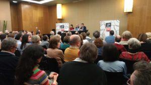 Jesús Almenar presenta su novela El túnel de las Esferas en Zaragoza. Editorial Adarve, Editoriales actuales de España, Editorales españolas.