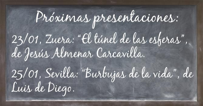 Presentaciones libros Adarve enero 2019. Editorial Adarve, Editoriales de España, Editoriales actuales de España, Editoriales españolas, Editoriales españolas actuales