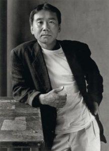 Fotografía de Haruki Murakami escritor japonés. Editorial Adarve, Editorial Adarve de España, Editoriales españolas, Editoriales españolas actuales, Editoriales de España, Editoriales actuales de España