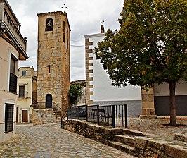 Fotografía Torre de la Iglesia de Ahigal. Editorial Adarve