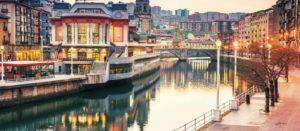 Panorámica de Bilbao España. Editorial Adarve, Editorial Adarve de España, Editoriales de España, Editoriales actuales de España, Editoriales españolas, Editoriales españolas actuales