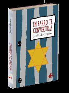 Portada del libro En barro te convertirás de José Luis Gismera. Editorial Adarve, Editoriales actuales de España