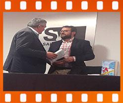 Juan Jesús Perez Barbero presenta La retibutiva conveniencia. Editorial Adarve, Editoriales españolas