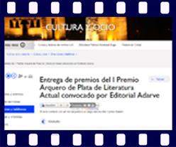 I Premio Arquero de Plata en la web del Ayuntamiento de Madrid. Editorial Adarve, Editoriales que aceptan manuscritos